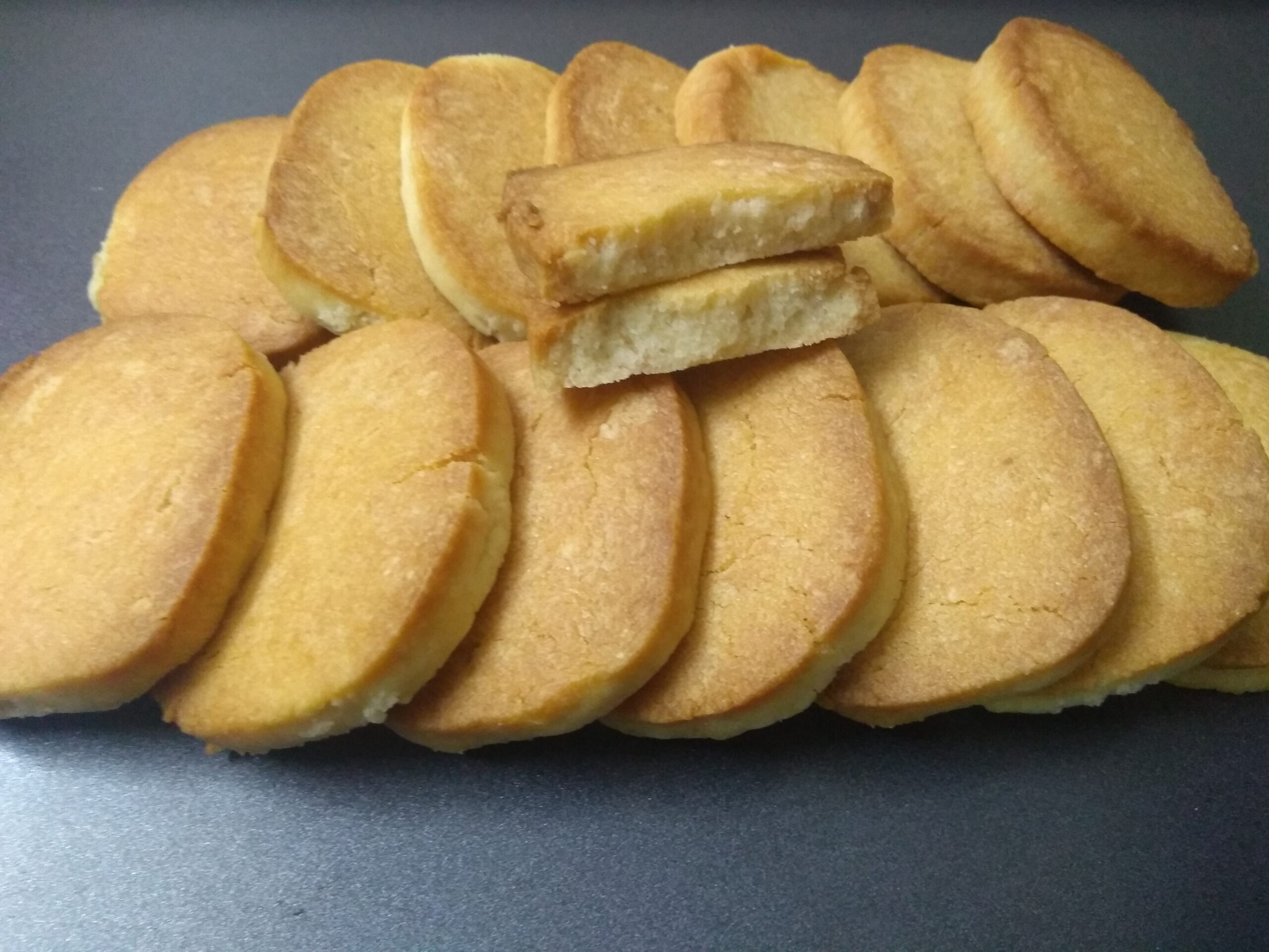 Butter cookies   Eggless butter cookie recipe