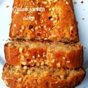 Gulab jamun cake -thumbnail