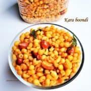 Kara boondi - thumbanil