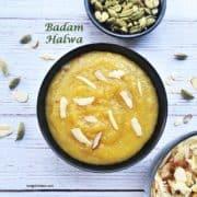 Badam halwa with Almond flour