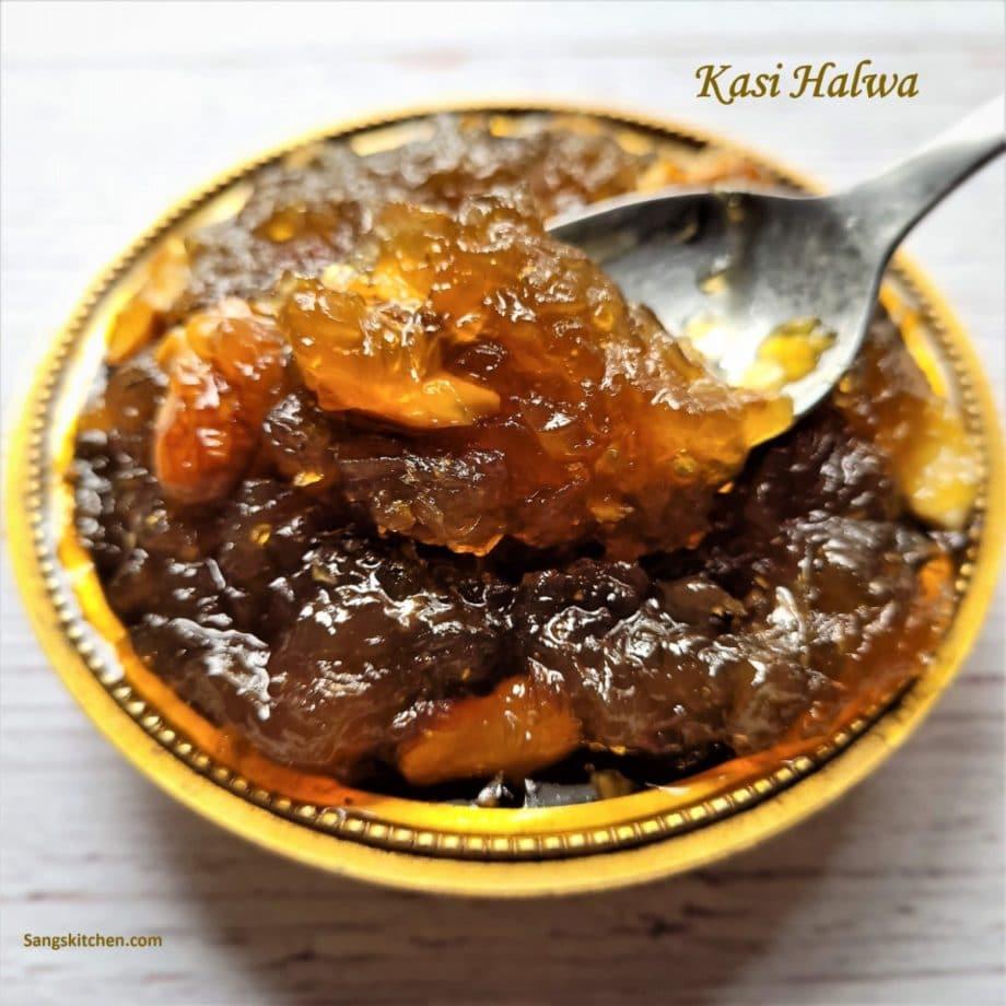 Kashi halwa   Karnataka style Ashgourd halwa   White pumpkin halwa